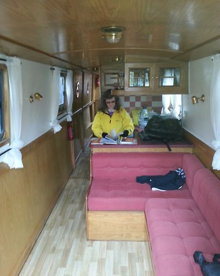 Lovely and cosy onboard