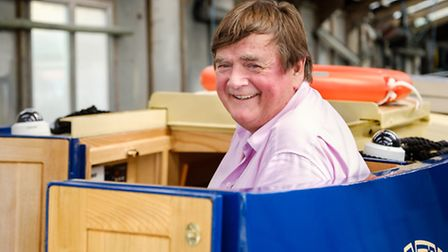 Paul has had a boat built for him to live on and explore the network