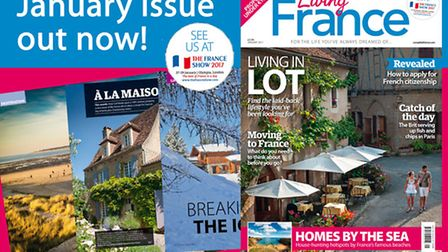 The January 2017 issue of Living France is out now!