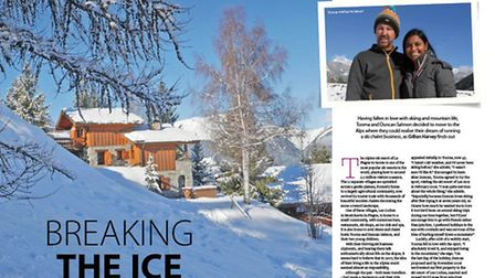 We meet an expat couple who have moved out to the French Alps full-time