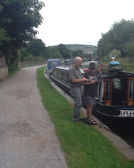 Moored up in Bath