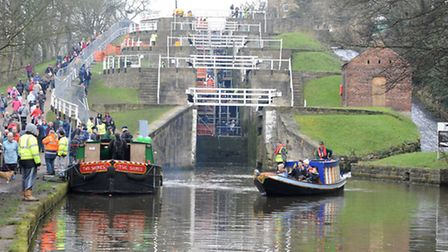 Bingley Five Rise today