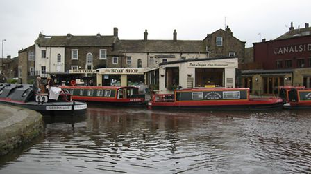 Skipton was a small market town before the canal arrived