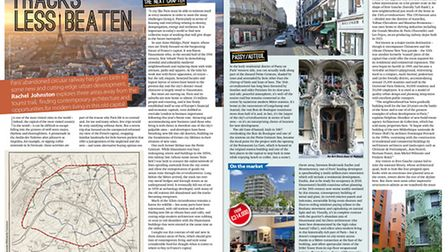 Househunting in Paris in the January 2017 issue of French Property News