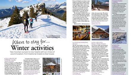 Where to stay for winter activities