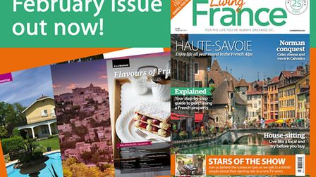 The February 2017 issue of Living France is out now!