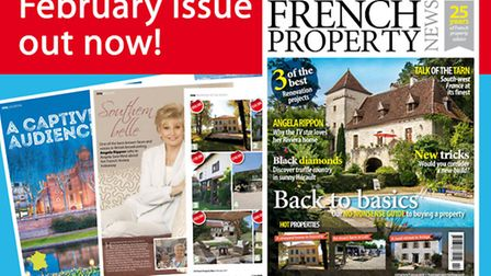 February 2017 issue of French Property News