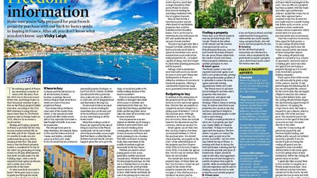 Back to basics buying guide in the February 2017 French Property News