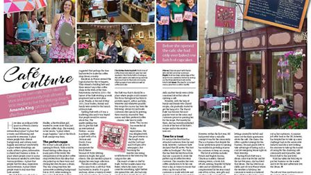 Kitsch Kafé in Dordogne in the February 2017 issue of French Property News