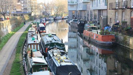Permanent moorings (like those on the right) are in short supply