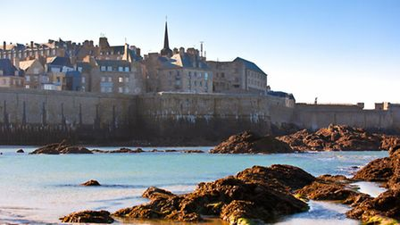 Saint Malo from the sea