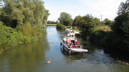 The Great Ouse looks idyllic, but what's in the water?