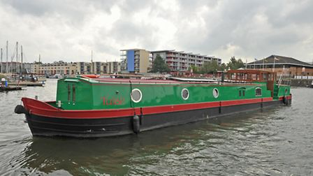 An eco-friendly boat