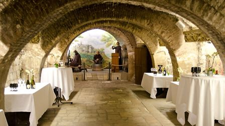 The Musée du Vin's historical vaulted cellars ©MDV olivier - CC BY-SA 3.0