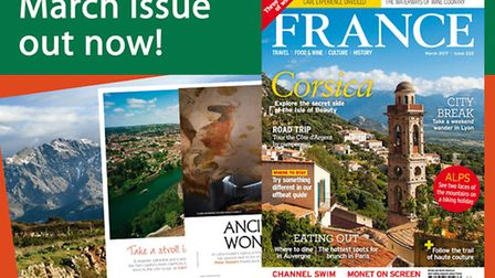 The March 2017 issue of FRANCE Magazine