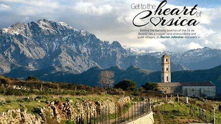 The dramatic mountain landscapes of Corsica