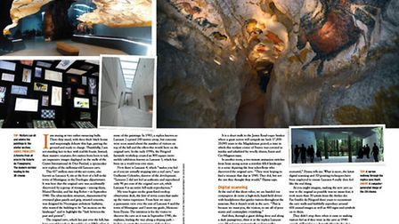 Inside 'Lascaux 4', the stunning replica of the prehistoric cave