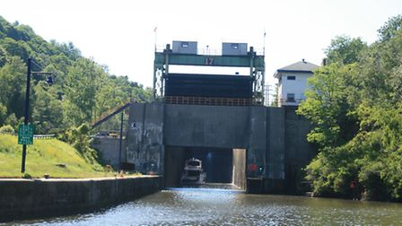 Lock 17 - the biggest on the canal