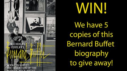 Enter our competition for your chance to win a copy of the book, Bernard Buffet: The Invention of Th