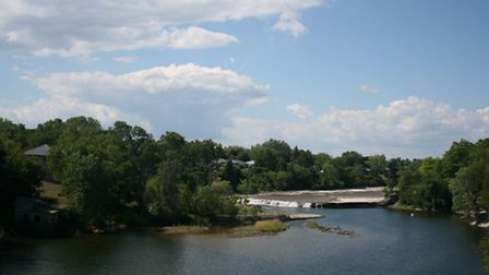 Ranney Falls on the Trent River