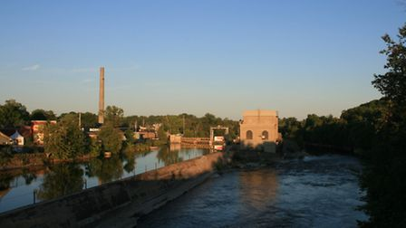 The river at Lakefield