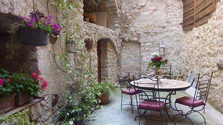 14th century house in Alpes-Maritimes