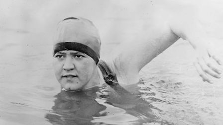 Gertrude Ederle, the first woman to swim the Channel © US Library of Congress