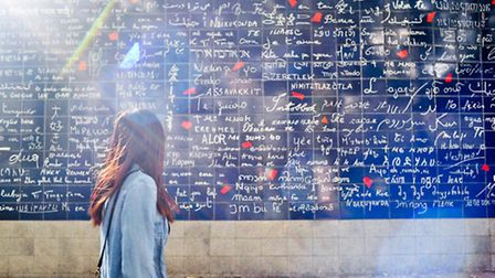 The Love wall in Montmartre in Paris ©Iamhao - CC BY 3.0