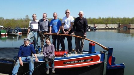The Chesterfield Canal Trust launched a replica Cuckoo boat in 2015