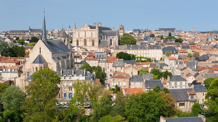 Poitiers in Nouvelle Aquitaine © SergiyN / Fotolia