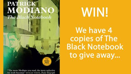 Win a copy of The Black Notebook by Patrick Modiano