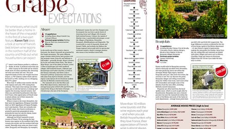 Househunting in the French vineyards in the March 2017 issue of FPN