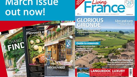 The March 2017 issue of Living France is out now!