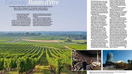 In the March issue of Living France we discover what life is like in Gironde