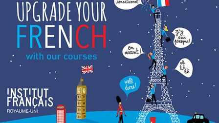 Win a French standard group course at the Institut francais