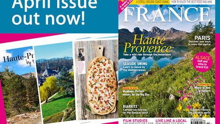 April 2017 issue of France Magazine is on sale now