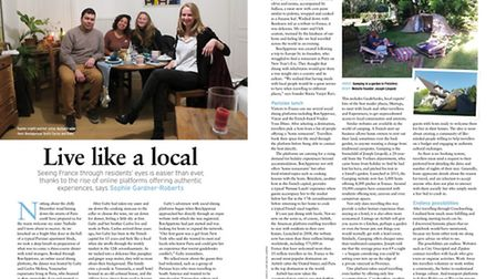Learn to live like a local in the April 2017 issue of France Magazine