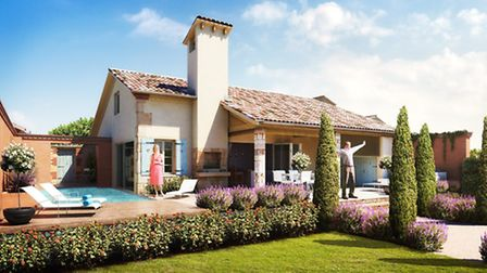 New build properties for sale at the French Property Exhibition in March