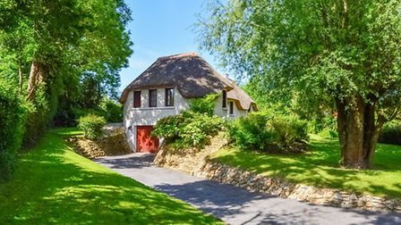 Thatched cottage in Somme