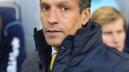 Norwich City boss Chris Hughton is taking nothing for granted against Swansea City. Picture by Paul