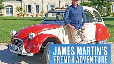 Win a signed copy of James Martin's French Adventure