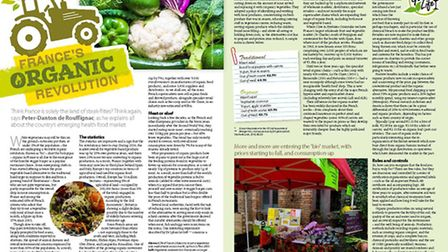 France's organic revolution in the April 2017 issue of French Property News