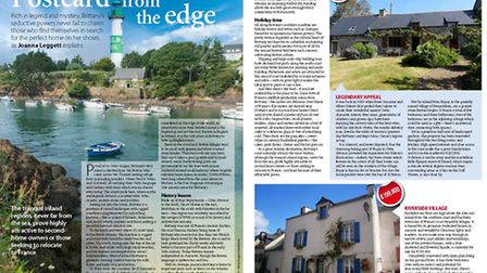 Househunting in mythical Brittany in April 2017 issue of French Property News