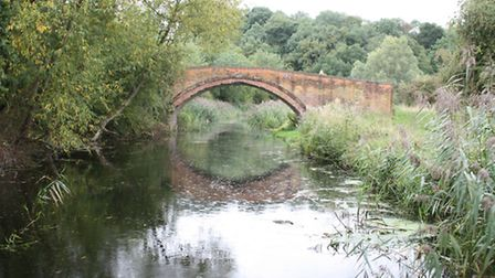 Linacre Bridge, dating from the 1760s