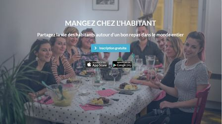 French platform Voulez-vous diner connects gourmets travellers with dinner hosts
