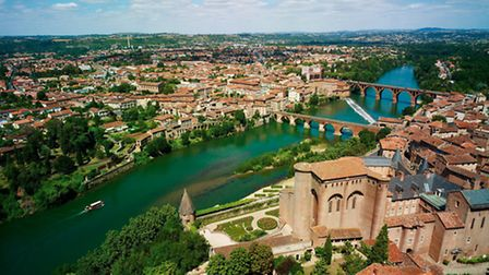 Albi is the capital of the Tarn department © Dominique Viet
