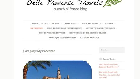 Belle Provence Travels is about the beautiful south of France