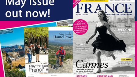 The May 2017 issue of FRANCE Magazine
