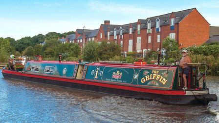 The Griffin passing Market Bosworth