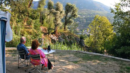 Enjoy stunning views at Les Gorges du Loup campsite in Alpes-Maritimes
